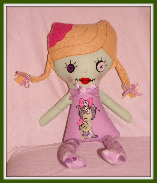 Wisp Baby zombie girl
