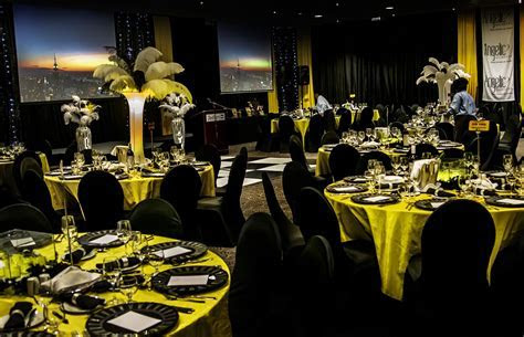 """"""" O What a night!"""" An amazing gala dinner   Our yellow"""