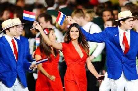 10. Paraguay e1343828913209 Top 10 Best Olympic Uniforms 2012