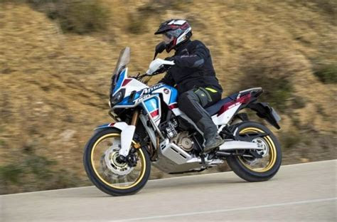 honda crfl africa twin adventure sports  review