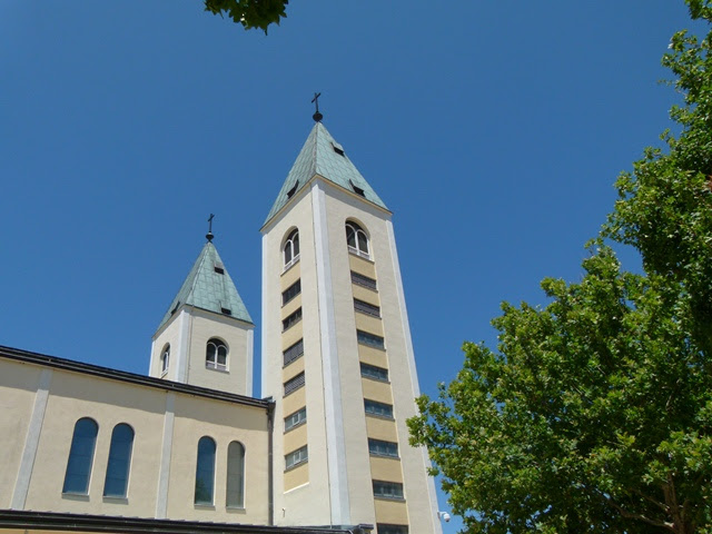 St. James Church reaches to the sky