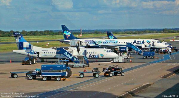 Azul confirma que estuda implantar voo entre Cuiabá e Santa Cruz de La Sierra, mas nega EUA
