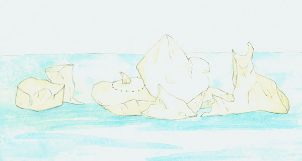 way to mark the day was to post a few of my recent polar bear drawings.