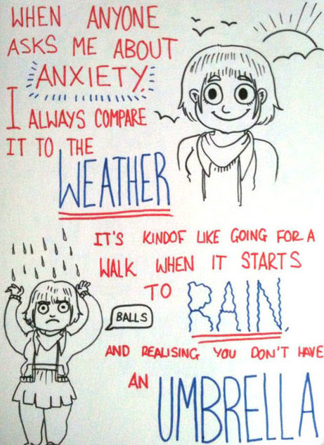Not Sure How Anxiety Works? This Weather Metaphor Should ...