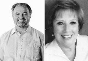 Luiz Costa e Mirian Bruno foram eleitos por causa da idade. (Foto: Divulgação/TSE)