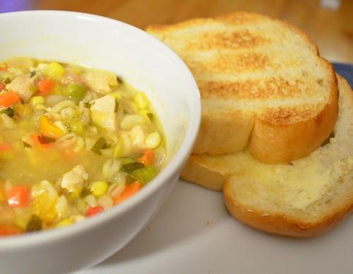 Saturday Night Chicken Soup
