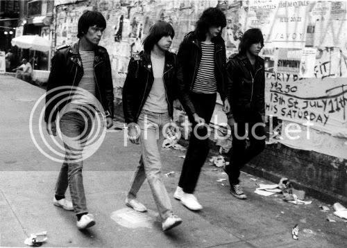 The Ramones: photo by David Godlis