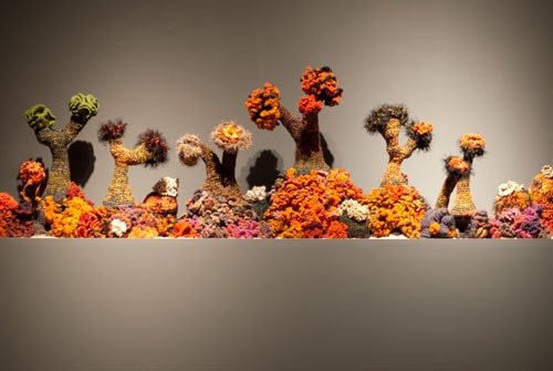 Hyperbolic Crocheted Coral Reef!