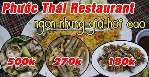 Phước Thái Restaurant - Nơi ăn uống dành cho đại gia | Du Lịch Ăn Uống Đà Nẵng Phần 1 #05