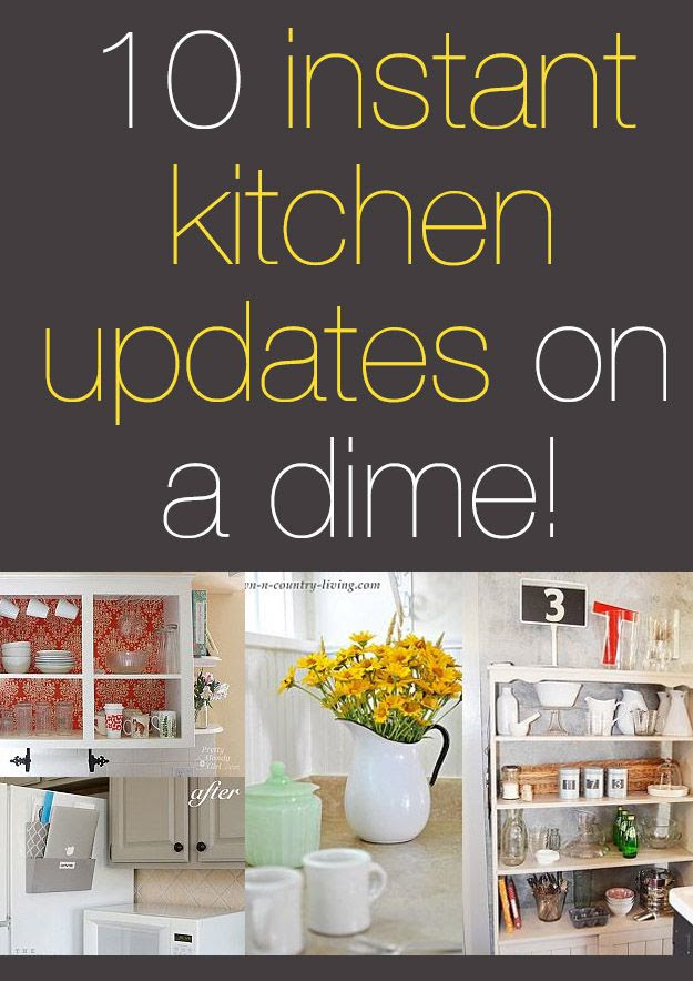 Kitchen Decorating On a Dime