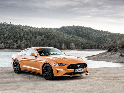 ford mustang arrives  europe  ps