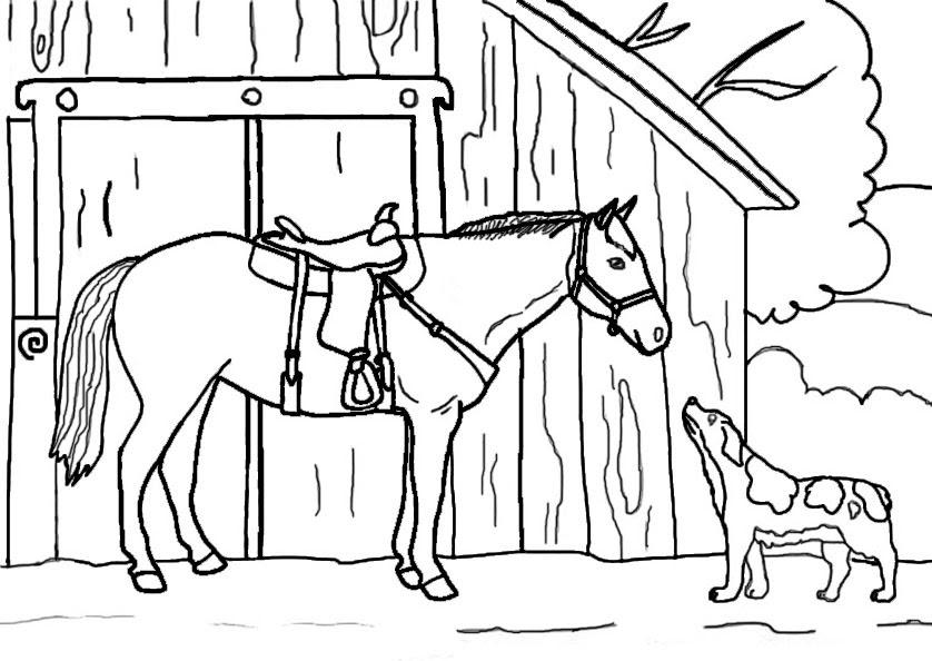 Ausmalbilder Pferde - AUSMALBILDER PFERDE KOSTENLOS ...