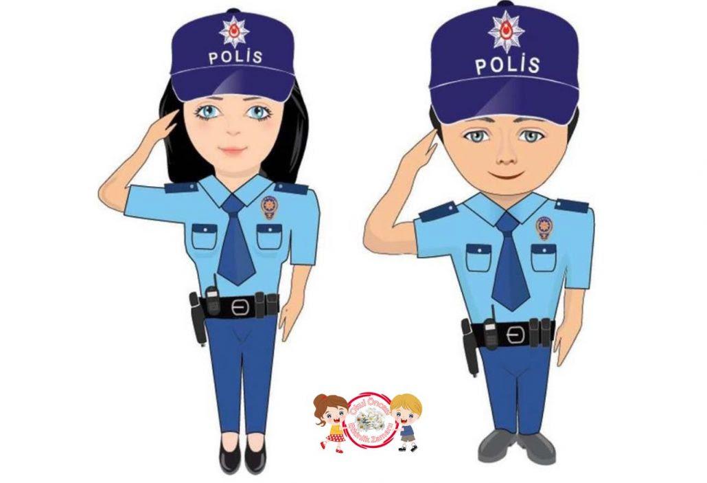 Polis Haftası Okul öncesi Etkinlik Zamanı