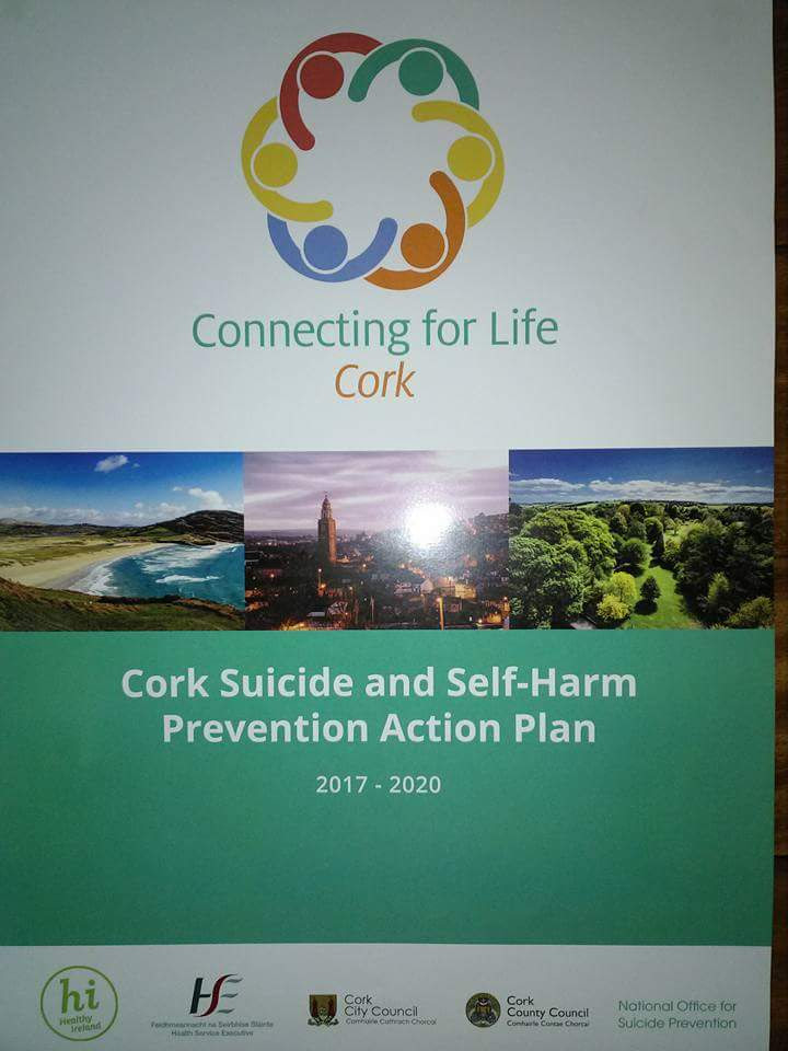 """Connecting for Life Cork"" – New Suicide & Self Harm Prevention Plan for Cork Published"