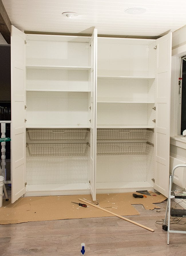 Kitchen Chronicles: Ikea Pax Pantry Reveal! | Jenna Sue ...