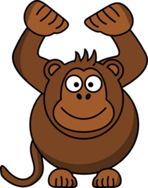 gambar smile monyet kartun clipart
