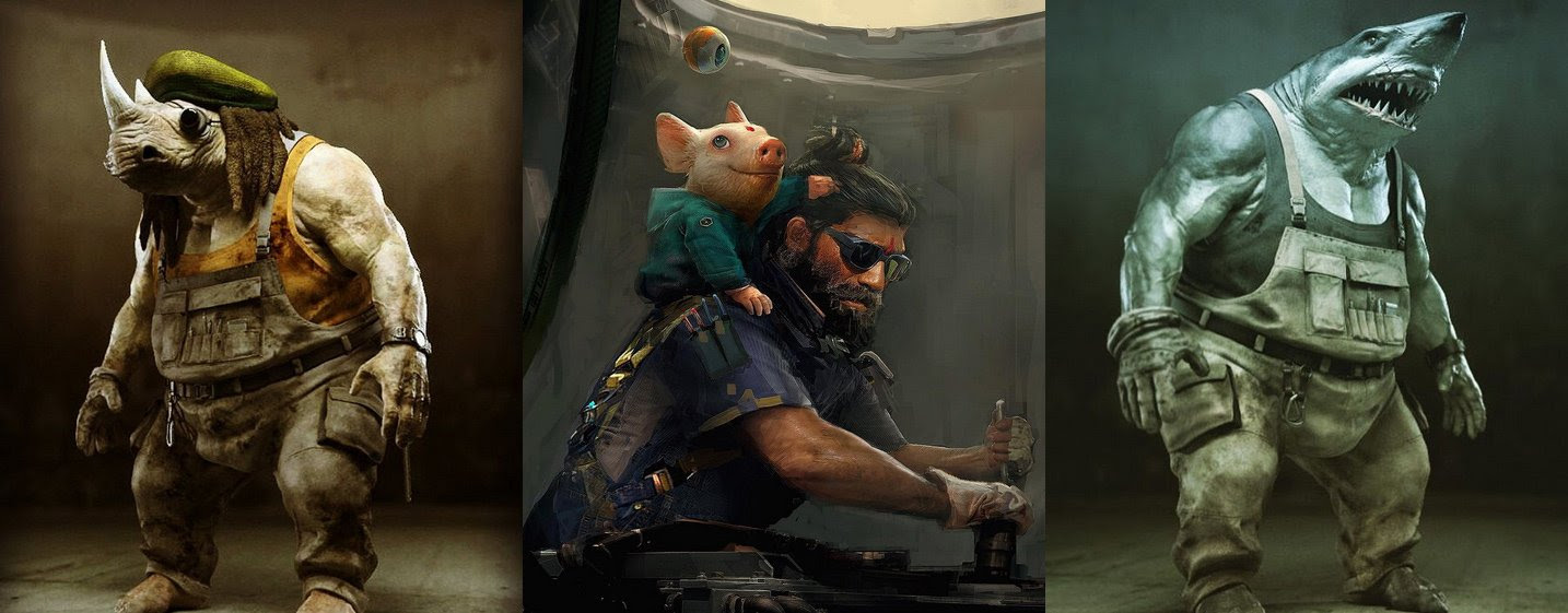 Don't expect to see Beyond Good & Evil 2 at E3 screenshot