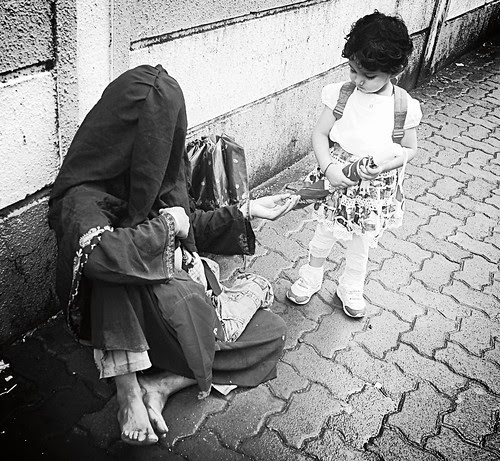 Marziya Shakir Has Understood The Spirit Of Ramzan... It Has Not Changed Much For The Muslim Beggar by firoze shakir photographerno1