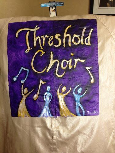"""Threshold Choir"" a jacket for Ellen Rose"