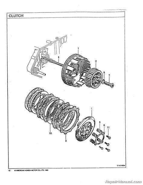 Honda CA160 CB160 CL160 Motorcycle Parts Manual