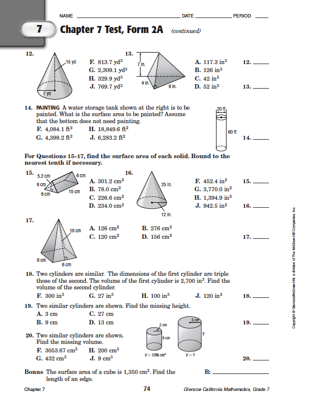 68 FREE CHAPTER 7 TEST FORM 2B PDF DOWNLOAD DOCX - * Tester