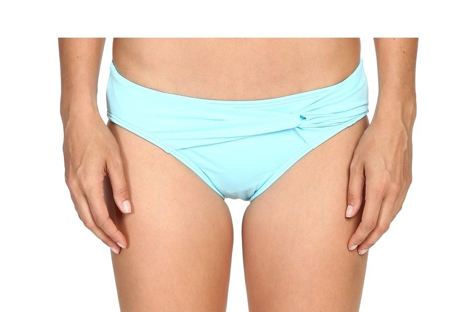 Buy Tommy Bahama Pearl Twist Front High Waist Bikini Bottom Swimming Pool Blue Women 39 S