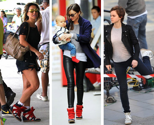 celebridades de tênis sneakers