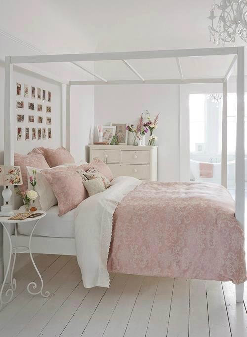 30 Shabby Chic Bedroom Decorating Ideas - Decoholic