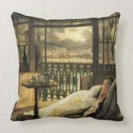 A Passing Storm throwpillow