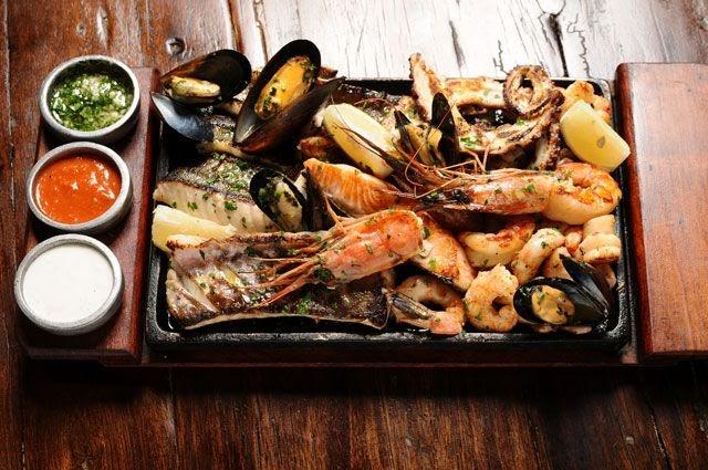 Restaurante De Comida De Mar