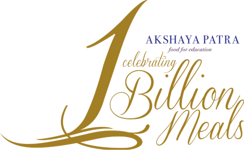 Akshaya Patra Billion Meals Logo