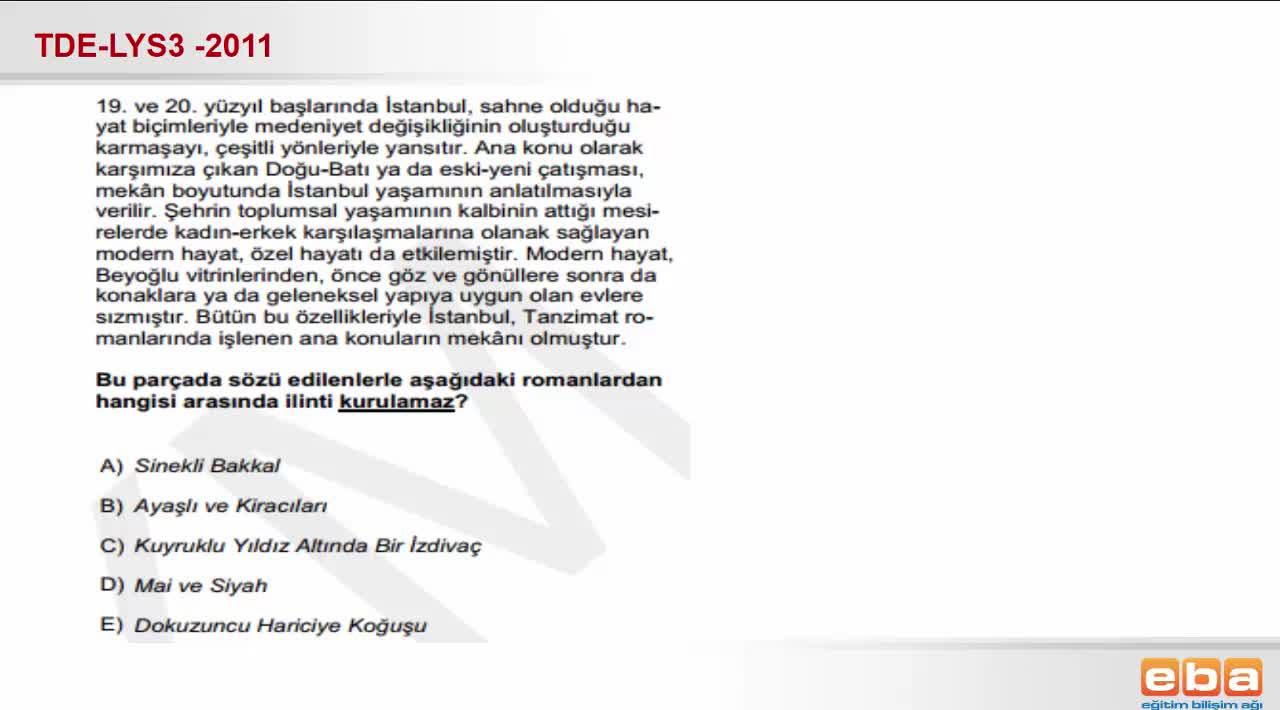 Türk Romanı Izle Video Eğitim Bilişim Ağı
