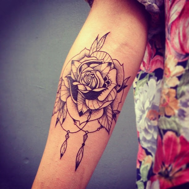 Beautiful Black Rose Tatt Best Tattoo Design Ideas