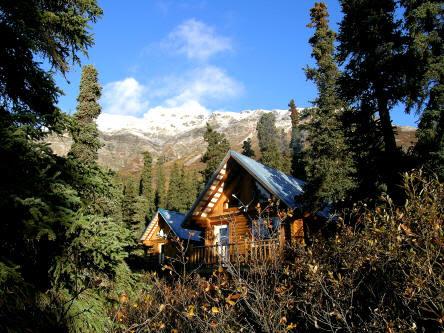 Alaska Wilderness Cabin In Lake Clark National Park