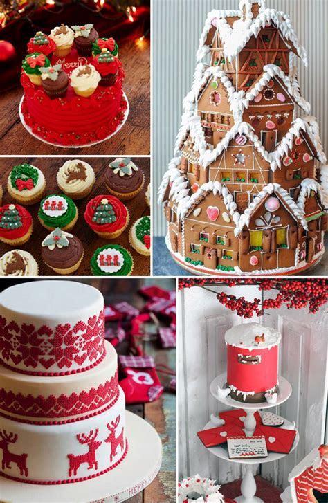 Christmas Wedding Cake Inspiration   Confetti.co.uk