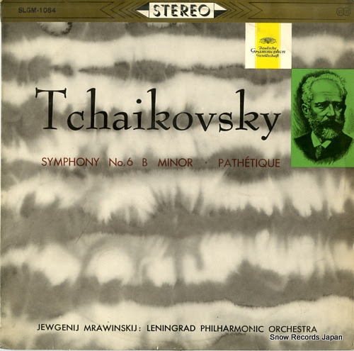 MRAWINSKIJ, JEWGENJI tchaikovsky; symphony no.6 b minor pathetique