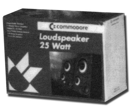 Altavoz Commodore Loudspeaker 25watt