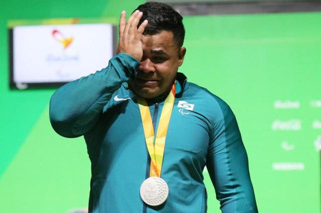 Evânio Rodrigues é prata e conquista medalha inédita no levantamento de peso Cezar Loureiro/CPB