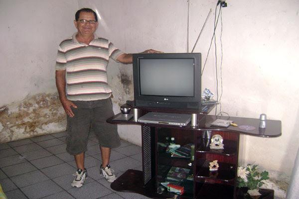 Ladrão devolve roubo em Serrinha 1 (Foto: Arquivo Pessoal)