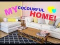 vintage living room colour ideas