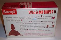 Mr Chips box back