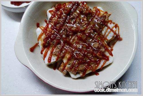 焗烤蘿蔔糕14