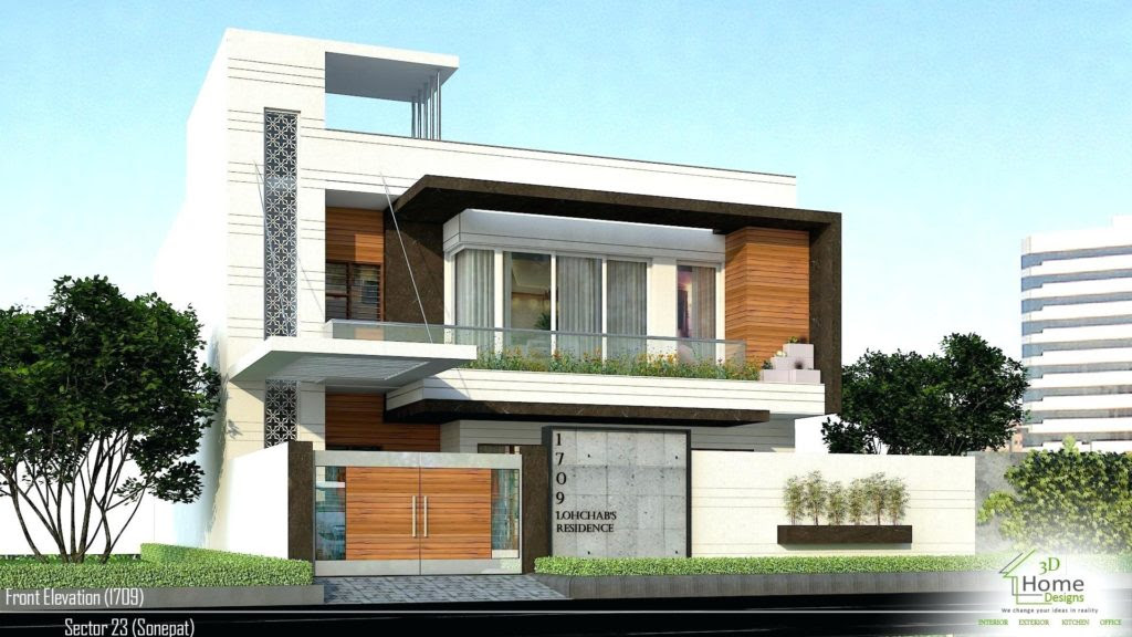 7 Marla House Design Pictures Front View