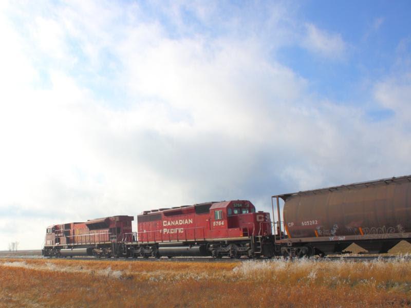 CP 5764 near La Salle MB