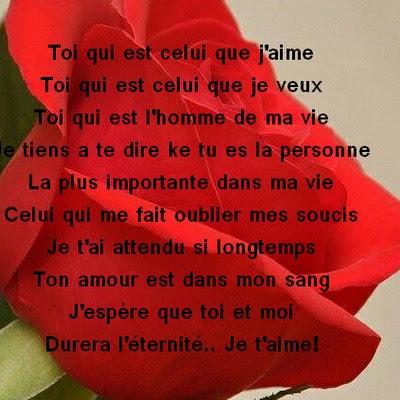 Poesie Damour Pour Lui