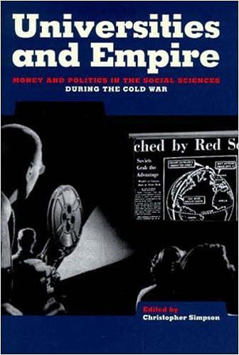 Universities and Empire