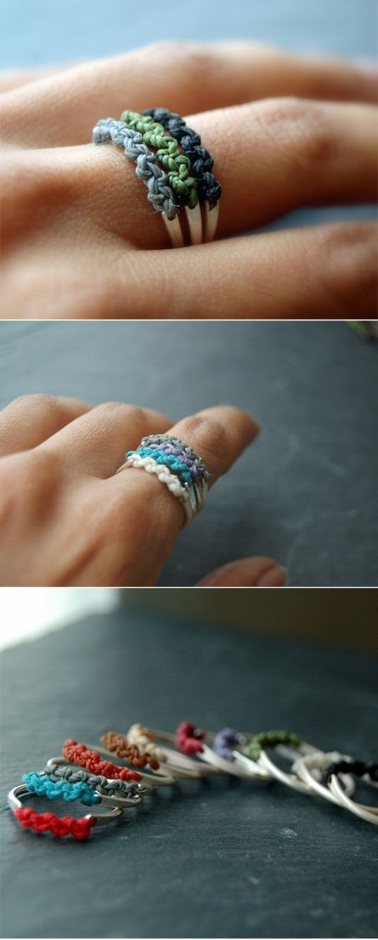 DIY ring~~~cute~~~