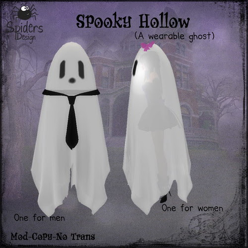 Spooky Hollow - Wearable Ghost