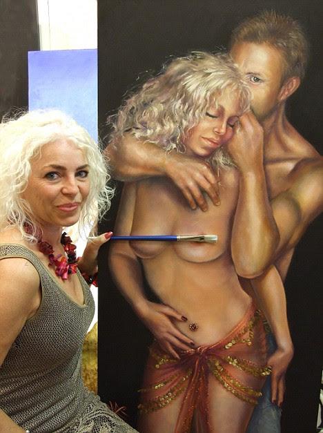 Maxime Xavier's nude portrait