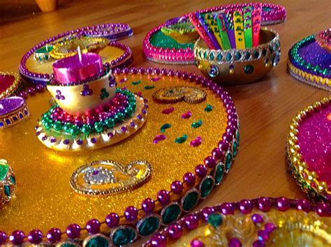 Hand made Mehndi plates. Please see my Facebook page Www